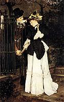 The Farewell, 1871, tissot