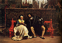 Faust and Marguerite in the Garden, tissot