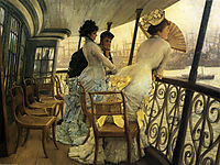 The Gallery of H.M.S. -Calcutta-, Portsmouth, tissot