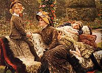 The Garden Bench, 1882, tissot