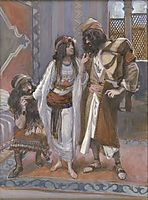 The Harlot of Jericho and the Two Spies, c.1902, tissot