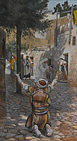 Healing of the Lepers at Capernaum, 1894, tissot