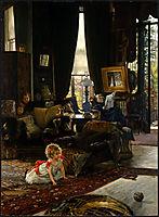 Hide and Seek, c.1882, tissot