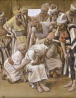 Jacob Mourns His Son Joseph, c.1902, tissot