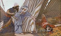 Jael Shows to Barak, Sisera Lying Dead, c.1902, tissot