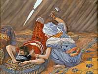 Jael Smote Sisera, and Slew Him, 1902, tissot