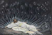 Jesus Ministered to by Angels, tissot