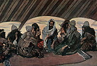 Jethro and Moses, as in Exodus 18, 1900, tissot