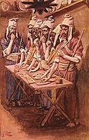 The Jews Passover, tissot