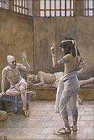 Joseph Interprets the Dreams While In Prison, c.1902, tissot