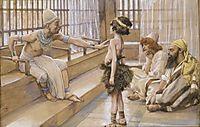Joseph Sold Into Egypt, c.1902, tissot