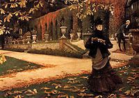 The Letter, 1876-1878, tissot