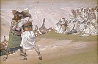 The Meeting of Esau and Jacob, c.1902, tissot