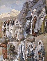 Moses Strikes the Rock, c.1902, tissot