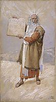 Moses and the Ten Commandments, c.1902, tissot
