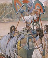 Pharaoh and the Midwives , c.1902, tissot