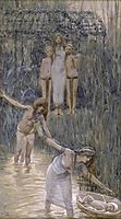 Pharaoh-s Daughter Has Moses Brought to Her, c.1902, tissot