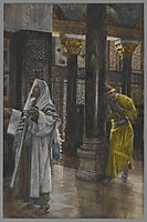 The Pharisee and the Publican, 1894, tissot