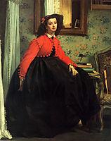 Portrait of Lady LL, 1864, tissot