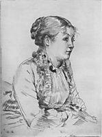 Portrait of a Woman, ?, tissot