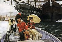 Portsmouth Dockyard, 1877, tissot