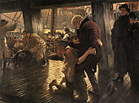 The Prodigal Son in Modern Life: The Return, 1882, tissot