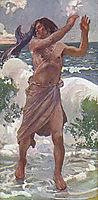 The Prophet Jonah, tissot