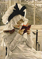Reading a Book, tissot
