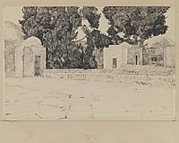 Rear of the Mosque of Omar, 1889, tissot