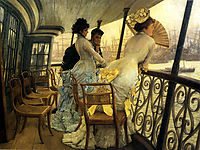 Remembrance Ball on Board, c.1877, tissot
