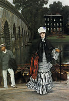 The Return from the Boating Trip, 1873, tissot