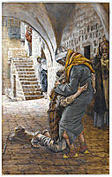 The Return of the Prodigal Son, illustration for -The Life of Christ-, c.1896, tissot