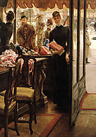 The Shop Girl, 1883-1885, tissot