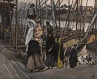 The Sojourn in Egypt, 1894, tissot