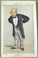 Statesmen No.1230 Caricature of The Rt Hon CP Villiers M.P., tissot