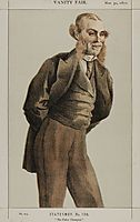 Statesmen No.1300 Caricature of Mr Roger Eykyn, Liberal M.P. for Windsor, tissot