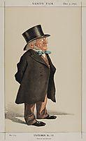 Statesmen No.1310 Caricature of Sir Francis Goldsmid M.P., tissot
