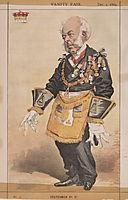 Statesmen No.370 Caricature of Thomas Dundas, 2nd Earl of Zetland, tissot