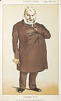 Statesmen No.910 Caricature of Mr John Locke M.P., tissot