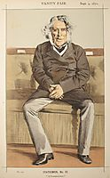 Statesmen No.920 Caricature of the Rt Hon Russell Gurney, tissot