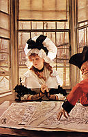 The Tedious Story, 1872, tissot