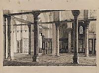 Transept of the Mosque of El Aksa, 1889, tissot