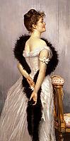 Vicomtesse De Montmorand, 1889, tissot