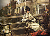 Waiting for the Ferry, 1878, tissot