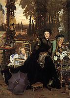 A Widow, 1868, tissot