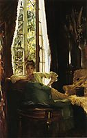 Woman in an Interior, c.1885, tissot