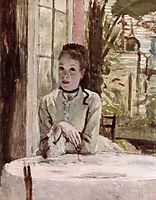 A Woman in an elegant Interior, tissot