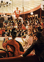 Women of Paris: The Circus Lover, 1883-1885, tissot