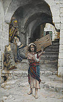 The Youth of Jesus, illustration for -The Life of Christ-, c.1894, tissot