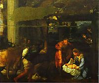Adoration of the Shepherds, 1533, titian